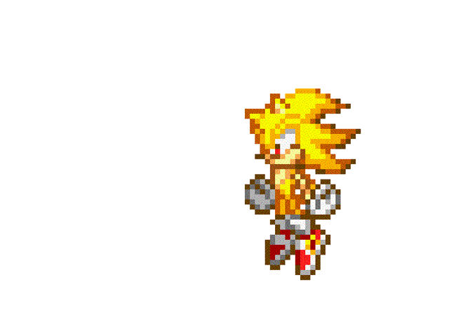 Random Super Sonic and Shadow Test fight by MrPsychoSilver on