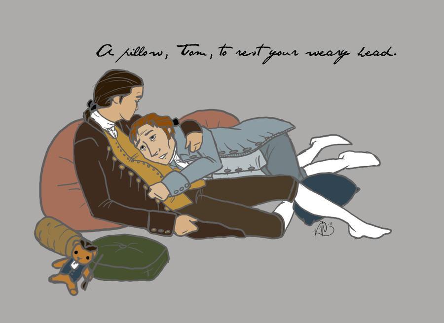 A Pillow, Tom by Techta