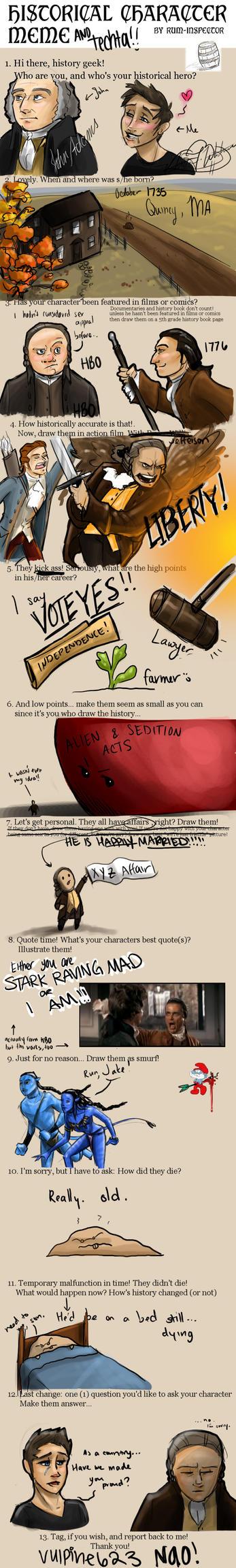 John Adams Meme by Techta