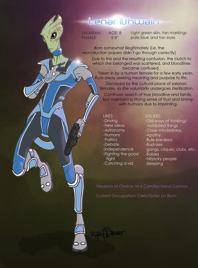 Mass Effect OCsona by Techta