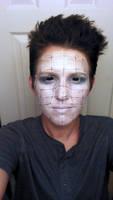 Some better lighting - practice makeup