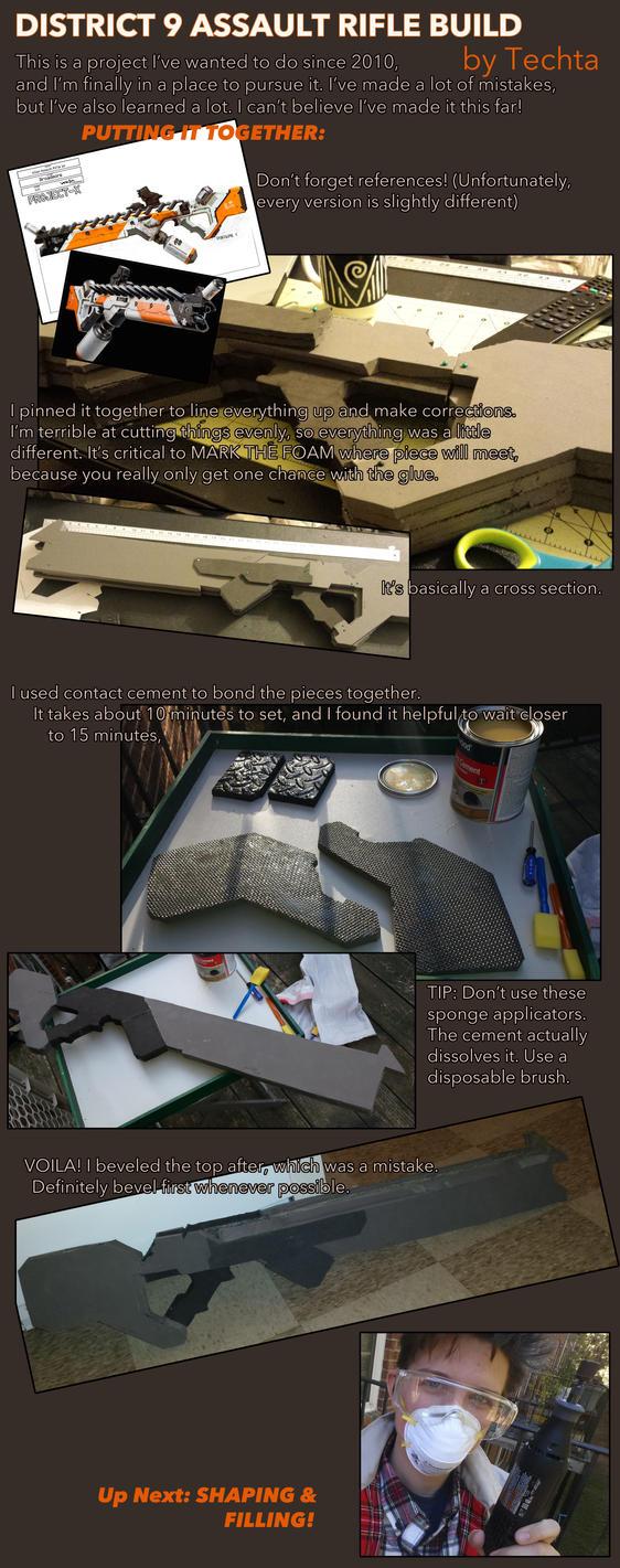 Assault Rifle Prop Replica Pt 2 by Techta