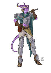 Commission - Tiefling