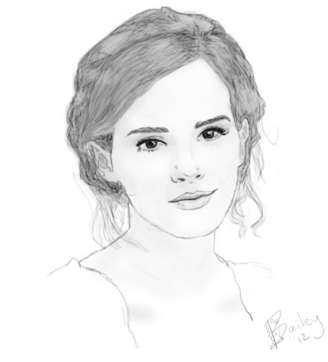 Emma Watson by bailey-o-saurus