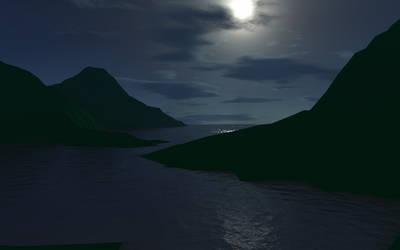 Moonlight Desktop_Widescreen by FragglesACM