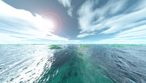 Vast Seas of Blue and Green