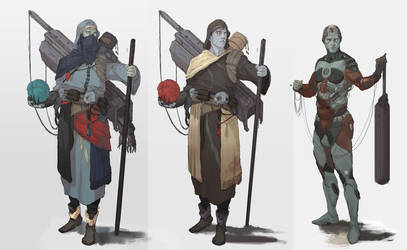 Nomad bot designs by ccornet