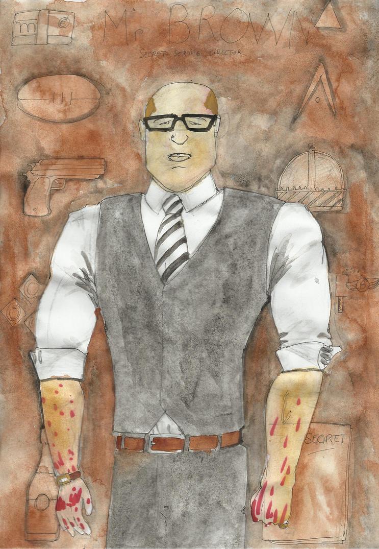 Mr Brown by bordeauxman