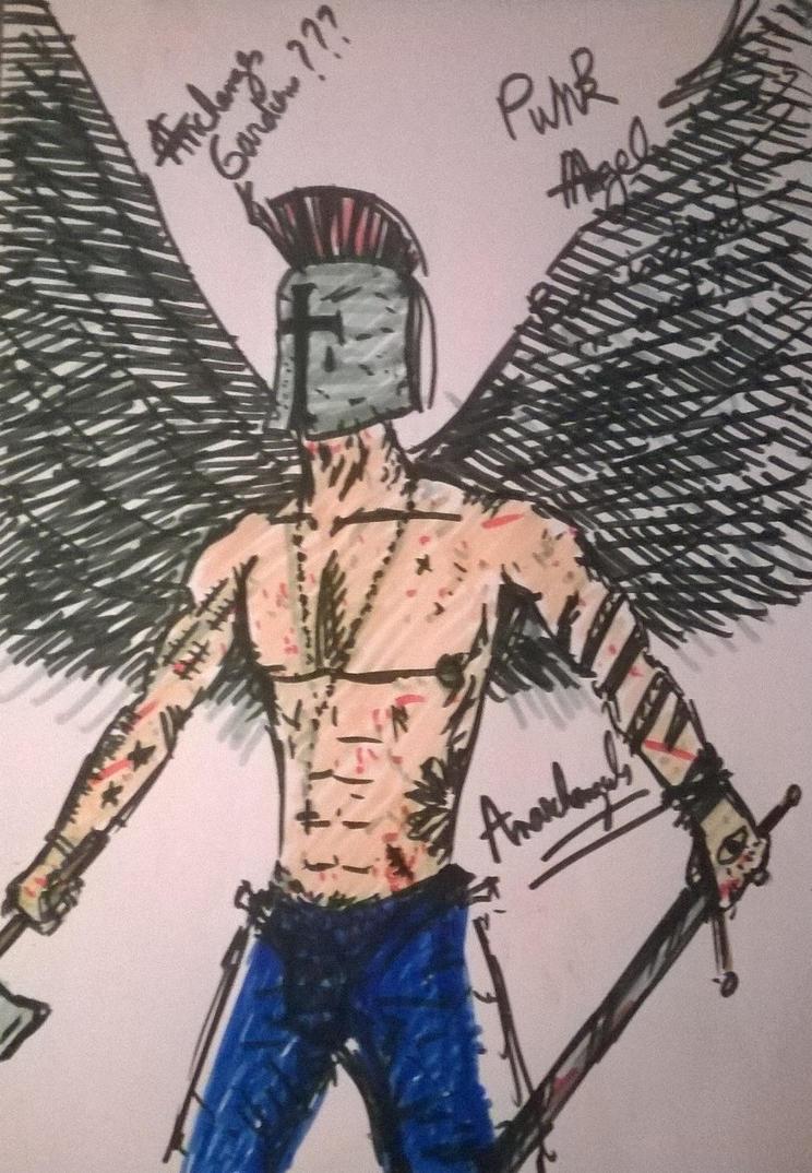 Anarchangel Mikhael by bordeauxman