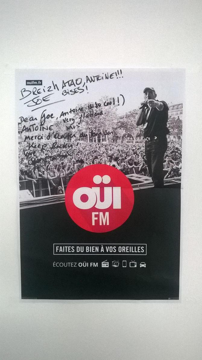 Affiche oui fm by bordeauxman