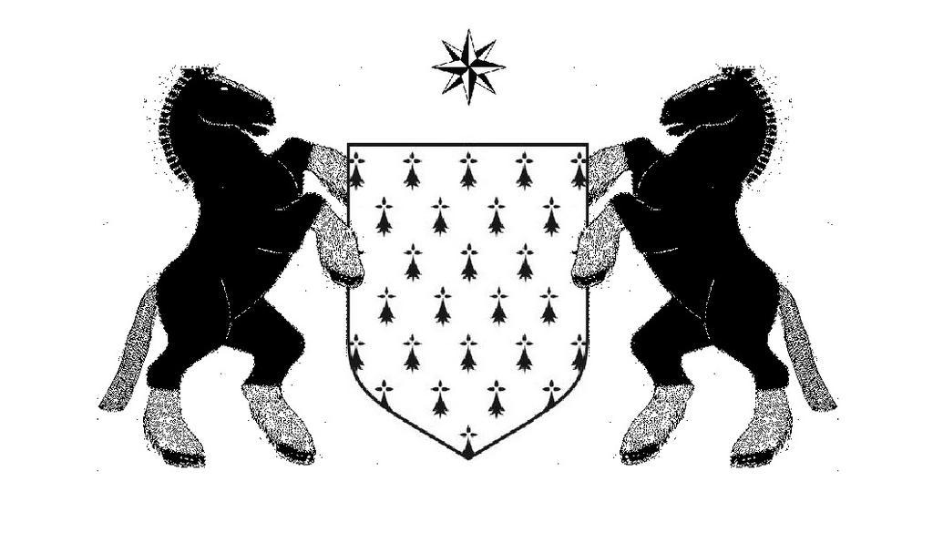 Blason de la Bretagne re-suite by bordeauxman