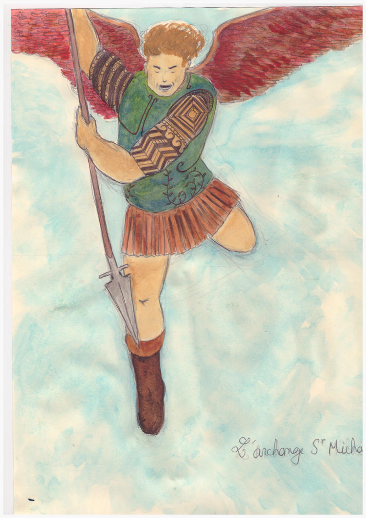 Archangel Saint Michael by bordeauxman