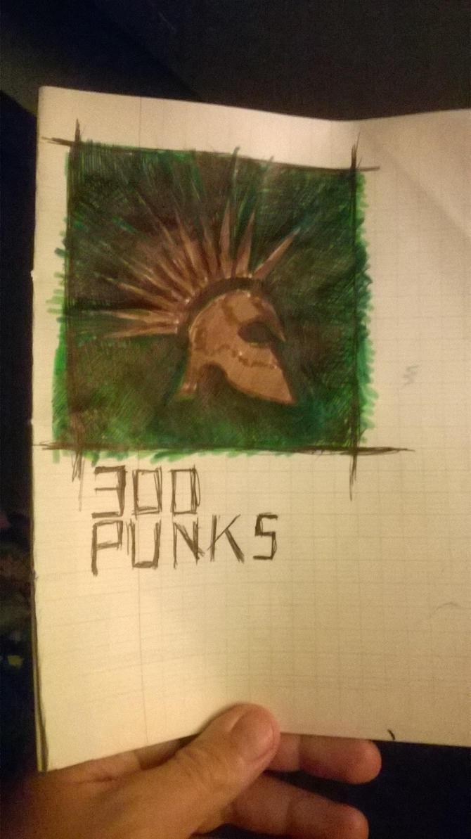 300 punks by bordeauxman