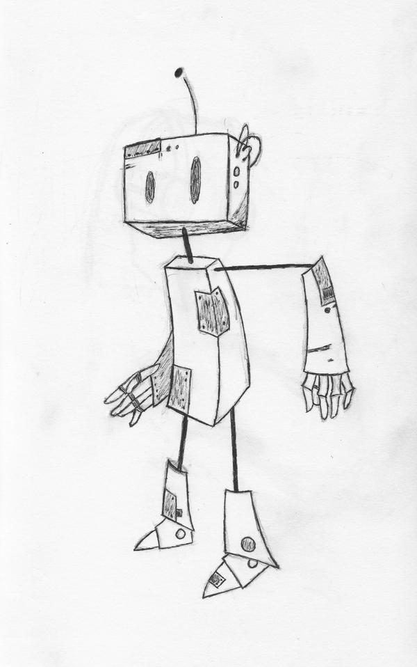 Simple Robot Sketches | www.imgkid.com - The Image Kid Has It!
