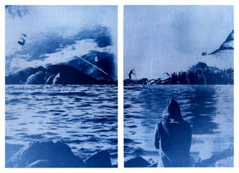 Onirico #01 - Cyanotype, film photography by EddieVerso