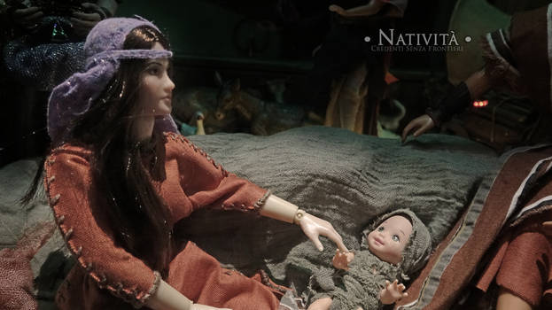 Nativity - close up