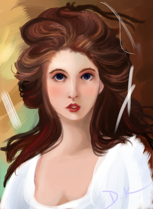 Lady Hamilton As Circe by Rainatmosphere