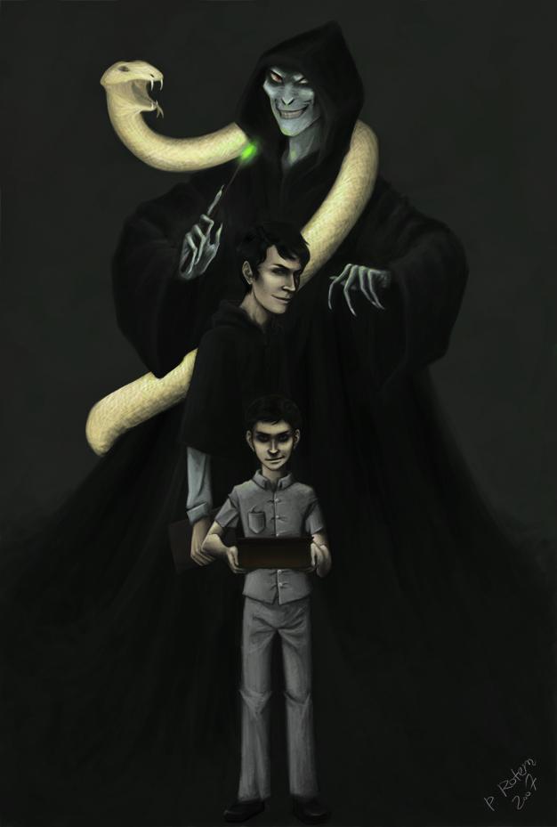"""موسوعة شاملة لصور """" من لا يجب ذكر اسمه """" I_am_Lord_Voldemort__by_Caelinay"""