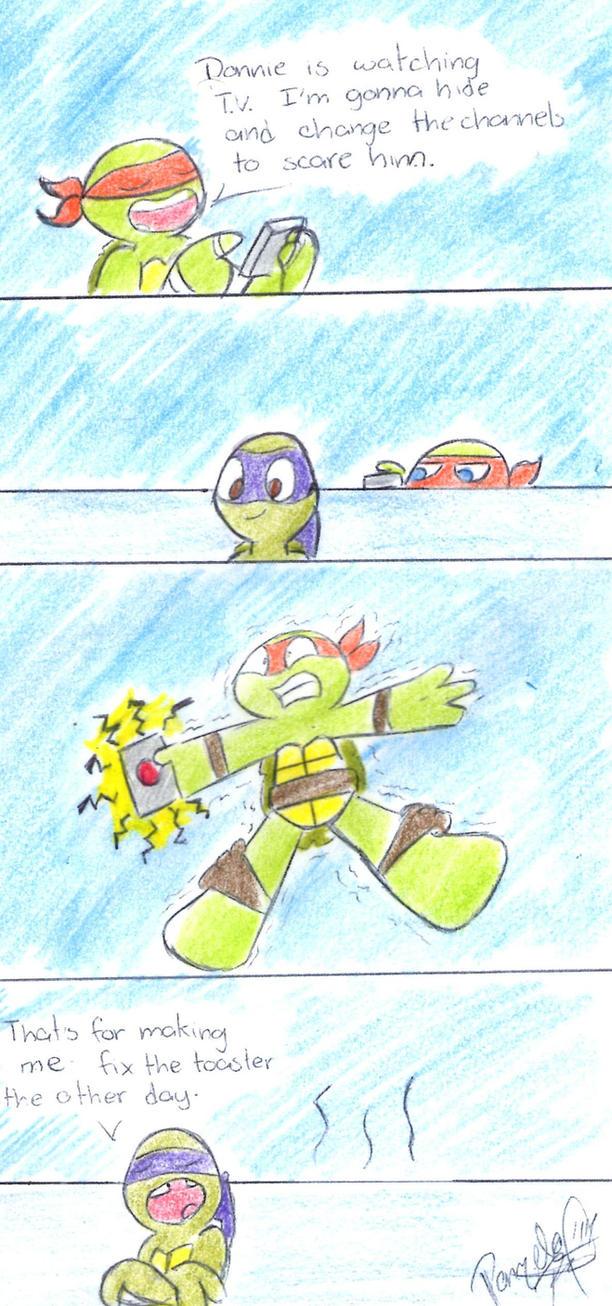 Little Revenge by penguinsfan90