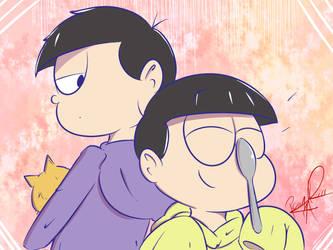 Ichimatsu and Jyushimtasu by penguinsfan90