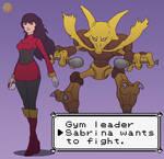 Gym leader Sabrina
