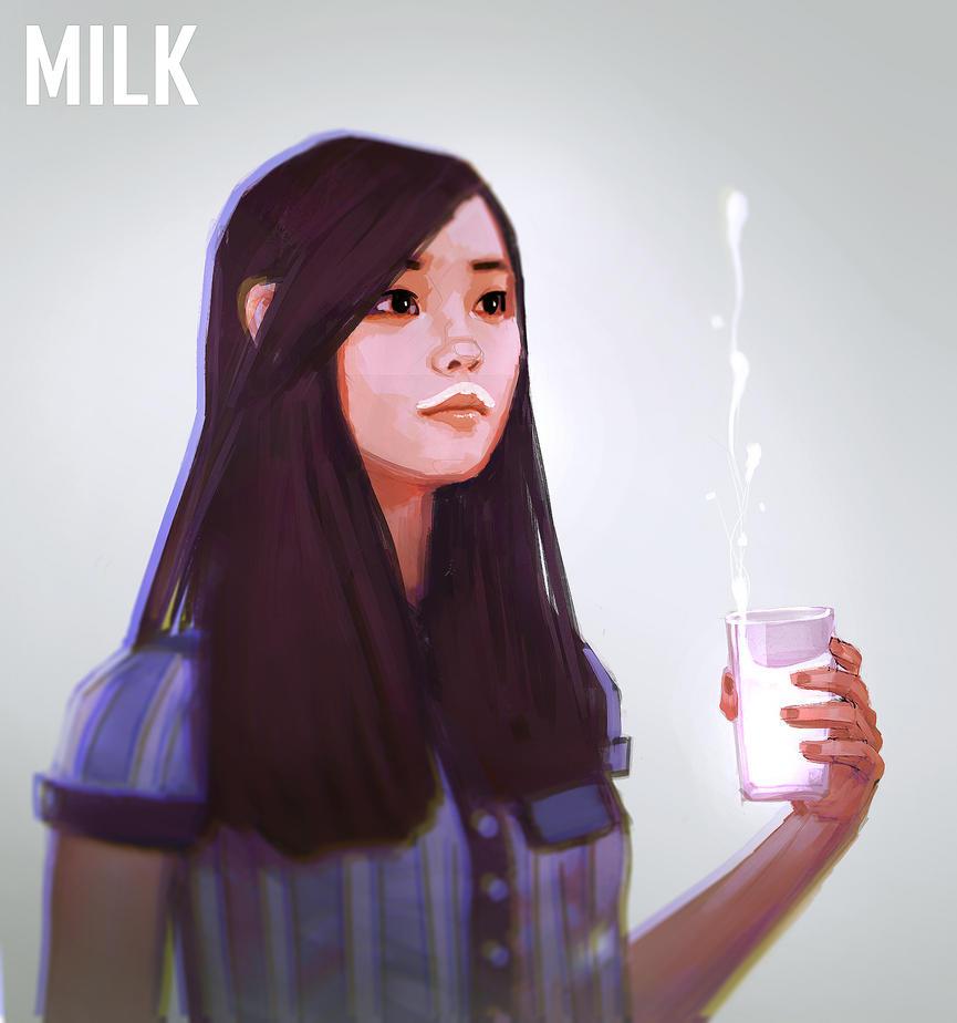 Milk by stinkypanda