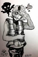 Inktober#3: Poison by stylecheetah