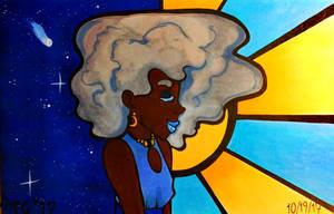 Inktober #19: Cloud by stylecheetah