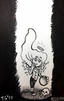 Inktober #20: Deep by stylecheetah