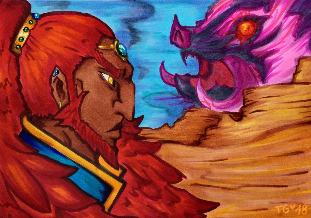 Ganondorf: Tide of the Sands by stylecheetah