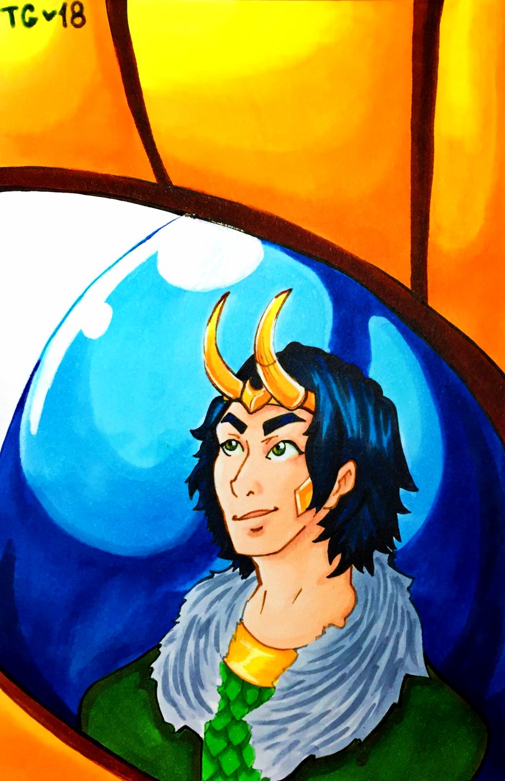 Loki: Agent of Asgard by stylecheetah