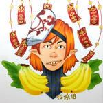 Art Trade: Nain of the Yiga Clan by stylecheetah