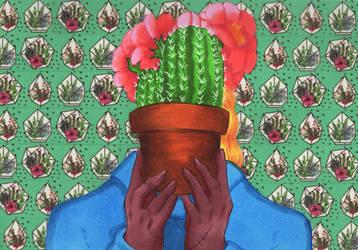 Inktober #25: Prickly by stylecheetah
