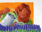 Gardening Break by stylecheetah