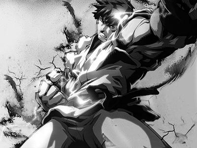 Street Fighter by greenarrowcs