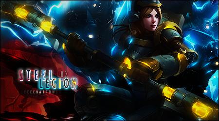 Lux Steel Legion by greenarrowcs