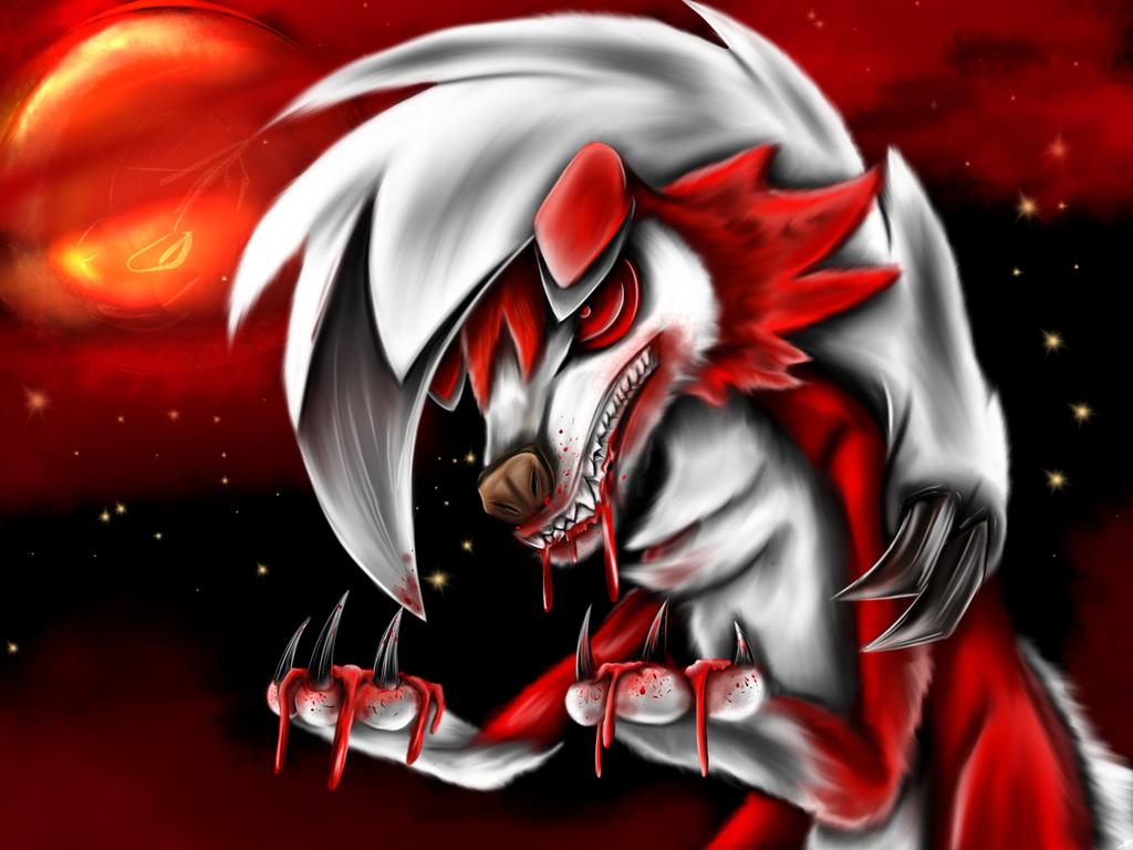 Bloodwolf by dudidraak