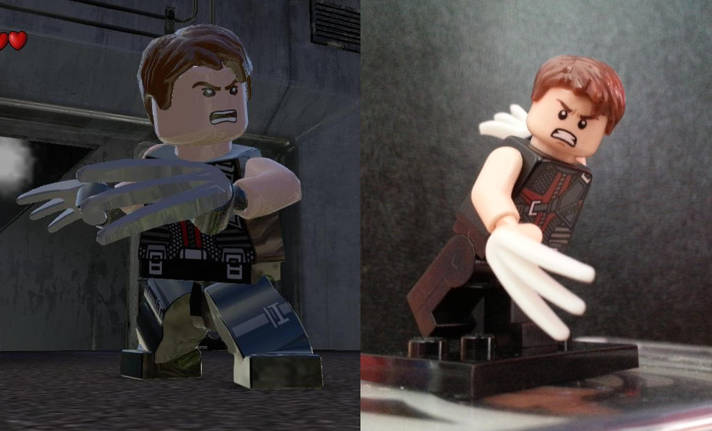 LEGO Marvel Superheroes Custom Avatar (Unmasked) by ...