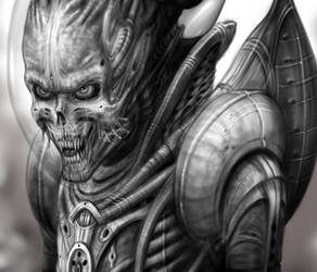 Alien of Mars detail