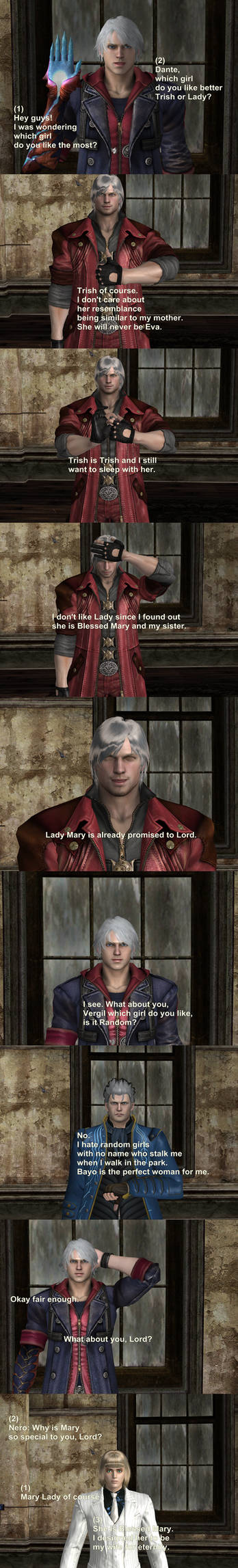 Who Is Your Favorite Female devil may cry dmc?