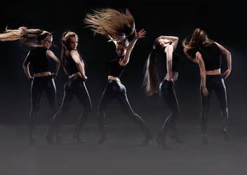 Always dancing by LadyMartist