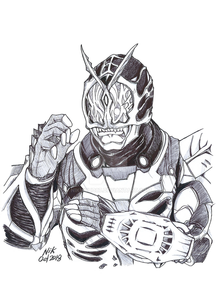 KR Zi-O Another Faiz Kaijin by NikMuhd87