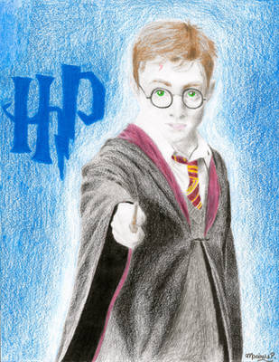 Harry Potter by TheGreatKitCat
