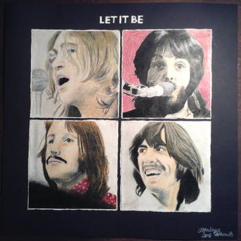 Commission : The Beatles by TheGreatKitCat