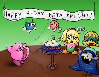 Happy B-Day Meta Knight! by TheGreatKitCat