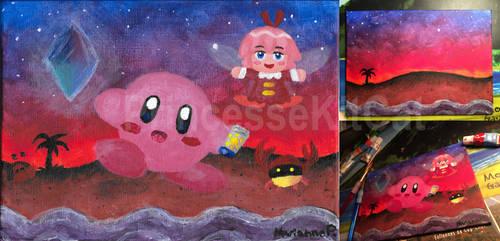 Kirby 64 - Ruby Sunset by TheGreatKitCat