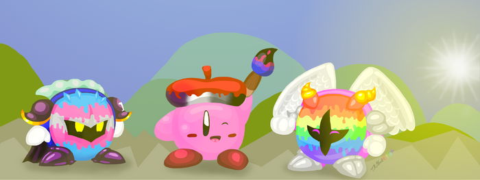 Pride Month: Kirby and the Diversed Paintbrush
