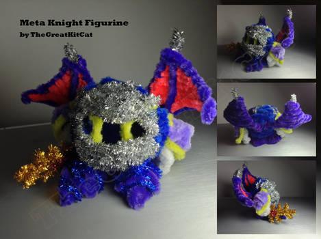 Meta Knight Pipe-Cleaner Figurine