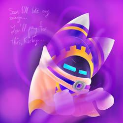 Kirby Gamble Galaxy Stories Fanart: Flux Magolor