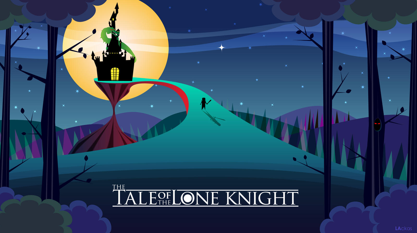 The tale of the lone knight by LAckas